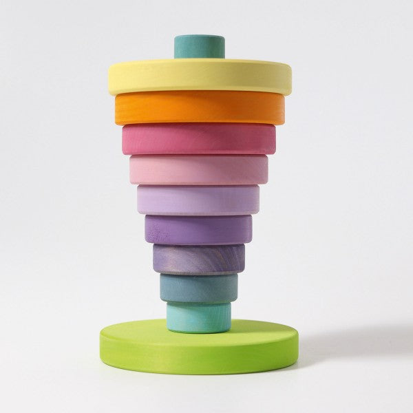 Large Conical Tower | Pastel