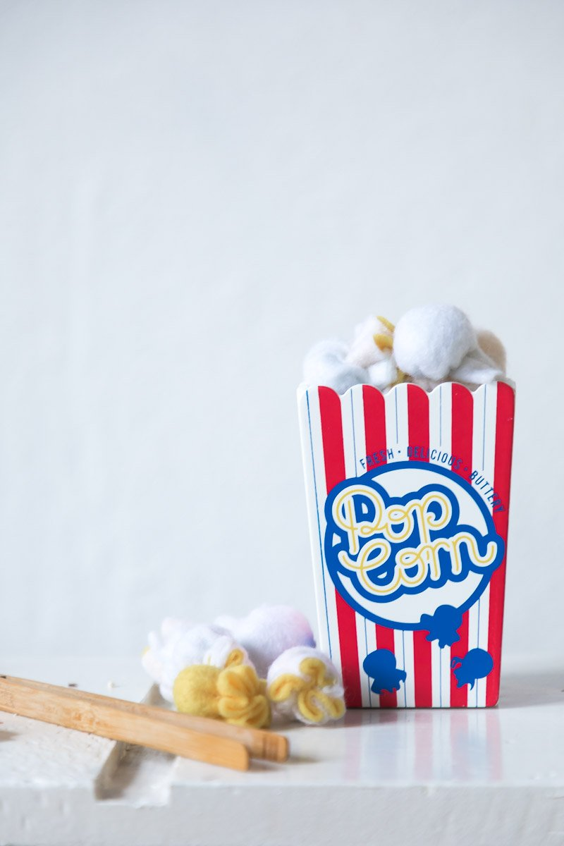 Pop corn game