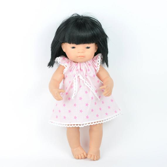 Miniland doll clothing | Star dress & nappy set for 38cm doll