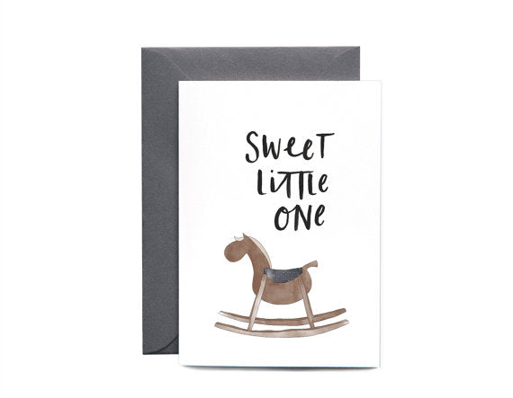 Rocking Horse | Greeting card