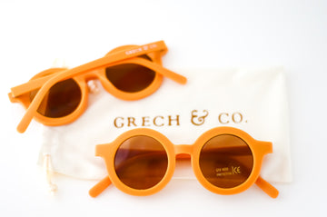Sustainable Kids Sunglasses | Golden