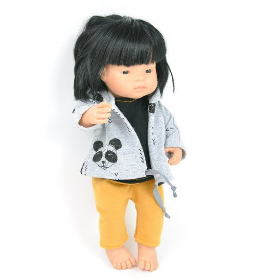 Miniland doll clothing | Sportswear set for 38cm doll