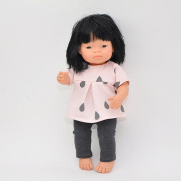 Miniland doll clothing | Tunic & leggings for 38cm doll