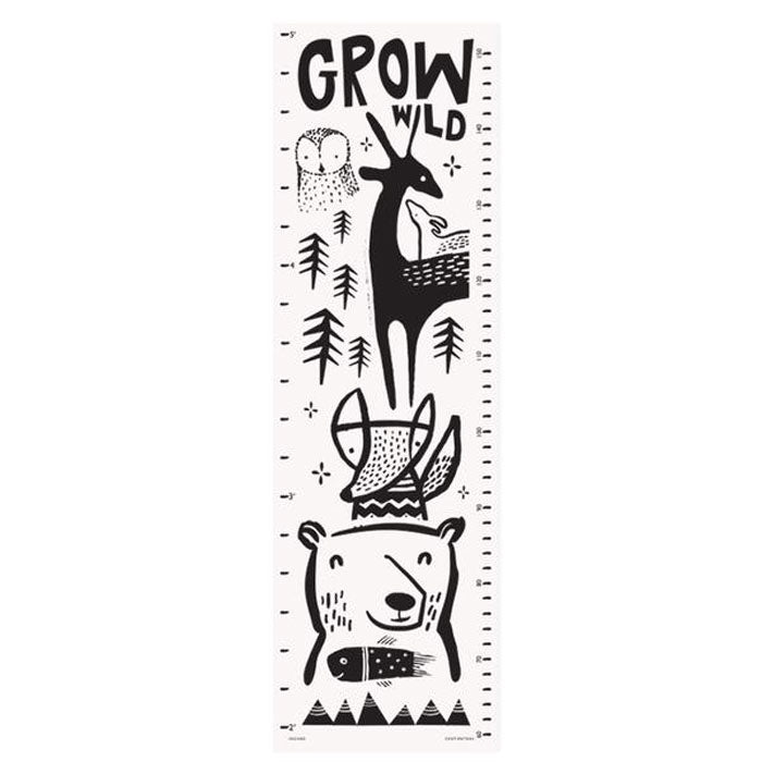 Canvas Growth Chart | Woodland