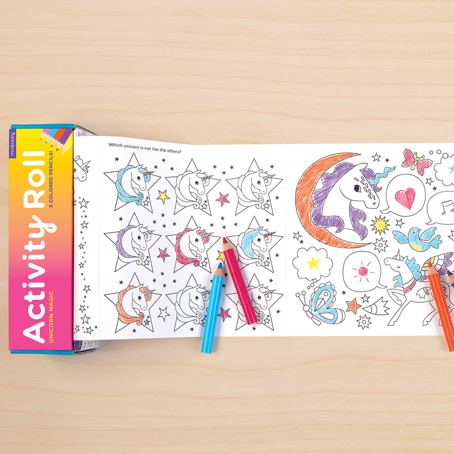 Activity Roll | Unicorn Magic
