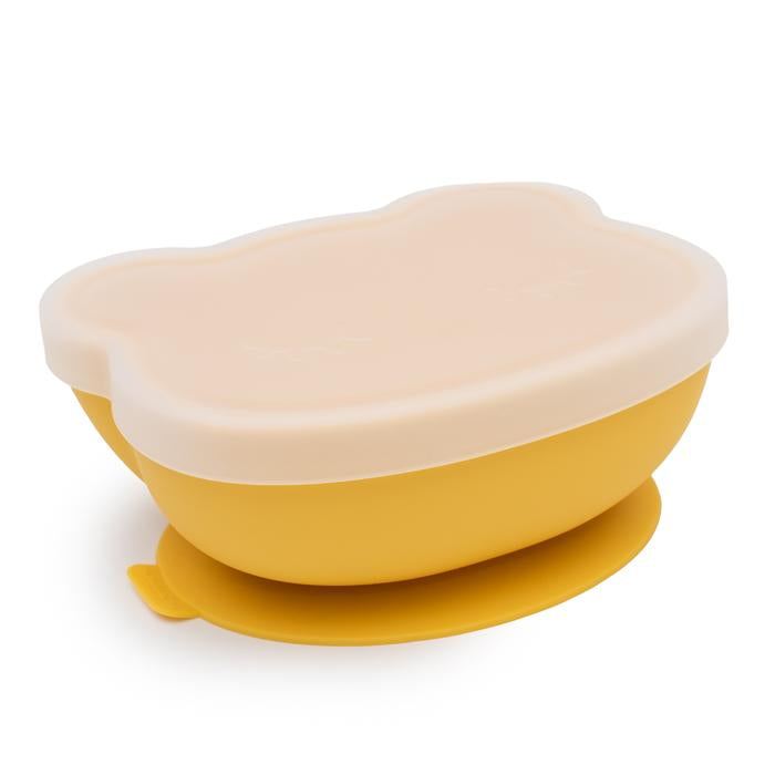 Stickie Bowl with Lid | Yellow