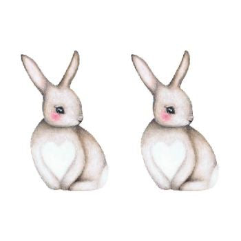 Sally the shy bunny | Small 2 pieces