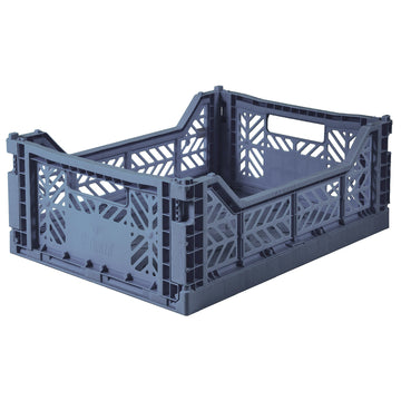 Folding Crate | Cobalt Blue