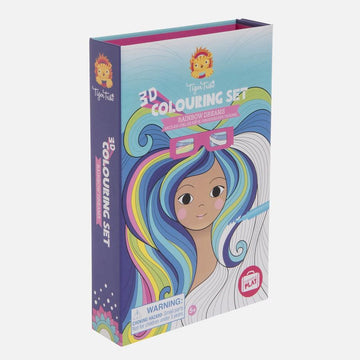 3D Colouring Set | Rainbow Dreams