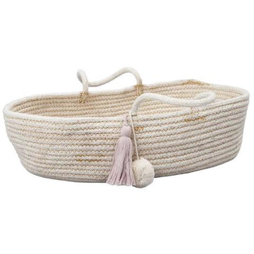 Rope Doll Basket | Mauve