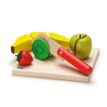 Wooden Fruit Salad Cutting Set