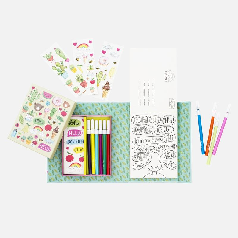 Post Card Kit | Hello