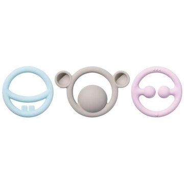 Nigi, Nagi & Nogi Teething Rings | 3 Pack