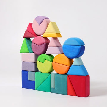 Building Set | Triangle Square Circle