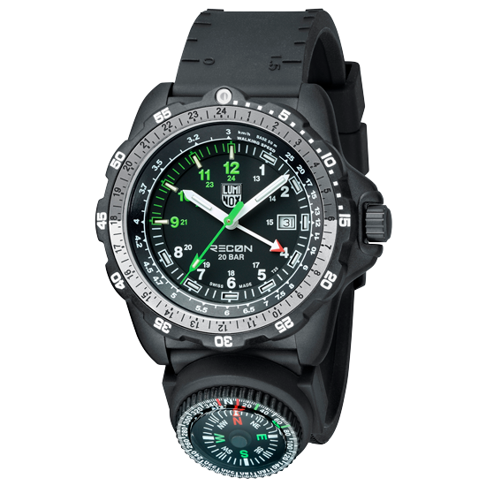 Luminox Compass PU - Black 28 mm Strap | Luminox  Australia