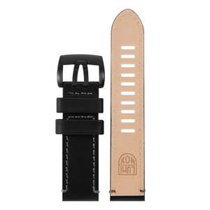 Luminox Genuine leather Watch Band - Black 23 mmfrom Luminox Australia