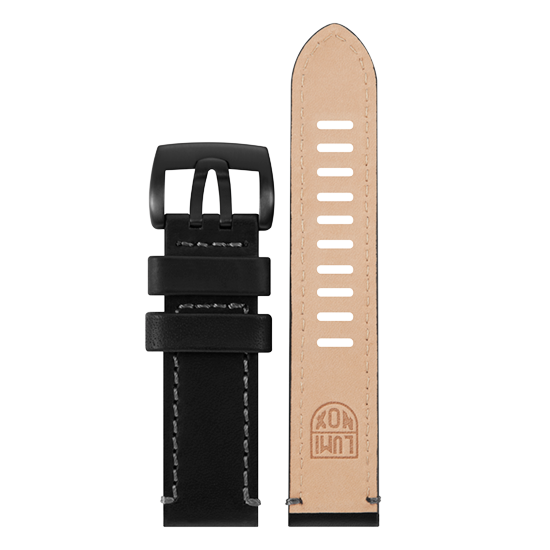 Luminox Genuine leather Watch Band - Black 23 mm Strap | Luminox  Australia