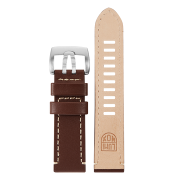 Luminox Genuine leather Watch Band - Brown 23 mm Strap | Luminox  Australia