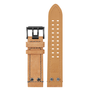 Luminox Genuine leather Watch Band - Beige 23 mm Strap | Luminox  Australia