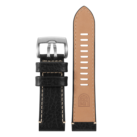 Luminox Genuine leather Watch Band - Black 26 mm Strap | Luminox  Australia