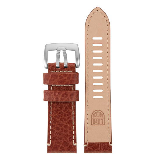 Luminox Genuine leather Watch Band - Brown 26 mm Strap | Luminox  Australia