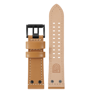 Luminox Genuine leather Watch Band - Beige 26 mmfrom Luminox Australia