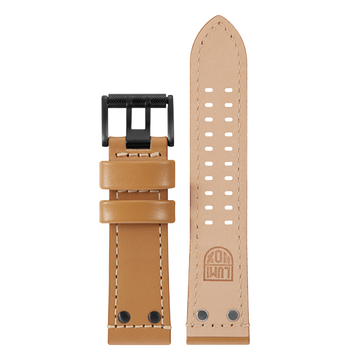Luminox Genuine leather Watch Band - Beige 26 mm Strap | Luminox  Australia