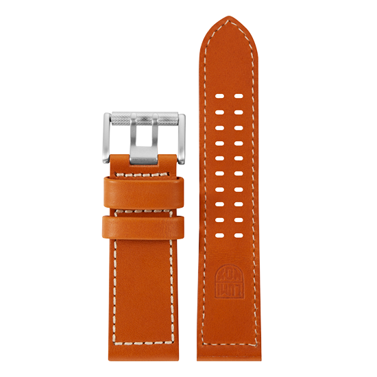 Luminox Genuine leather Watch Band - Brown 26 mmfrom Luminox Australia