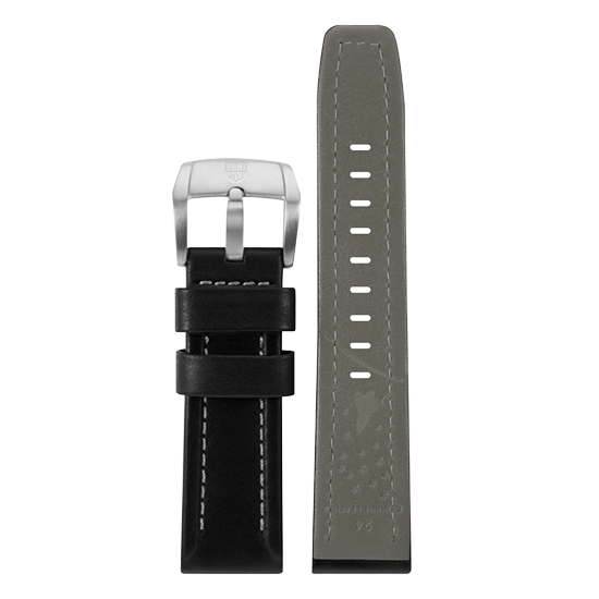 Luminox Genuine leather Watch Band - Black 24 mm Strap | Luminox  Australia