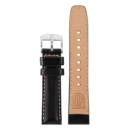 Luminox Genuine leather Watch Band - Black 20 mm Strap | Luminox  Australia