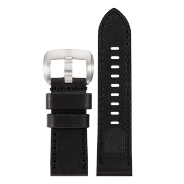 Luminox Genuine leather Watch Band - Black 28 mm Strap | Luminox  Australia
