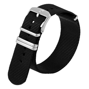 Luminox Webbing NATO style Watch Band - Black 22 mmfrom Luminox Australia