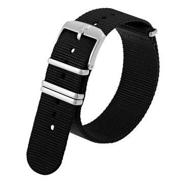 Luminox Webbing NATO style Watch Band - Black 23 mm Strap | Luminox  Australia