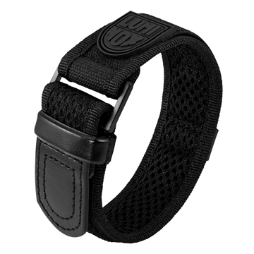 Luminox Velcro fast strap Watch Band - Black 27 mm Strap | Luminox  Australia