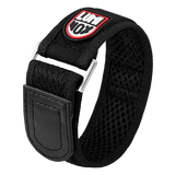 Luminox Velcro fast strap Watch Band - Black 32 mmfrom Luminox Australia