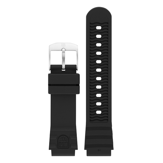 Luminox PU Watch Band - Black 19 mm Strap | Luminox  Australia
