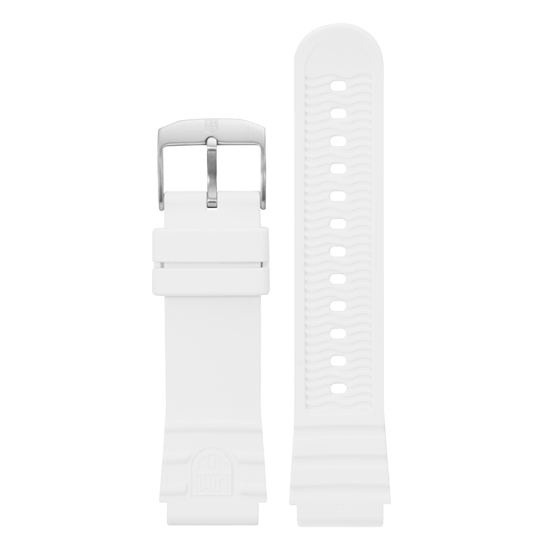 Luminox Silicone rubber Watch Band - White 22 mm Strap | Luminox  Australia