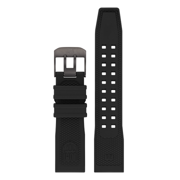 Luminox PU Watch Band - Black 24 mm Strap | Luminox  Australia