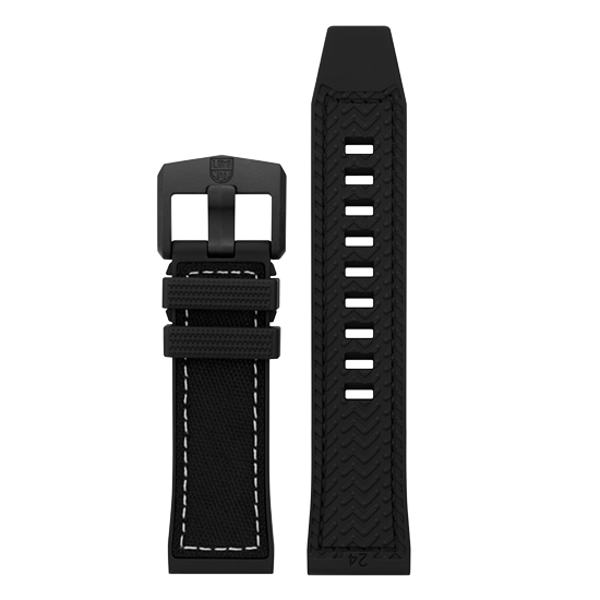 Luminox Genuine rubber Watch Band - Black 24 mm Strap | Luminox  Australia
