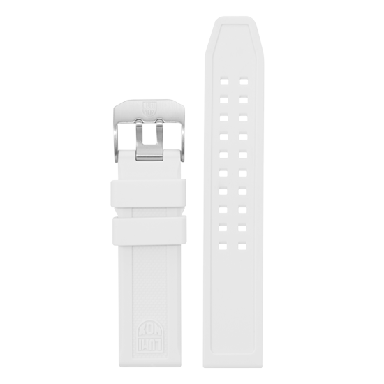 Luminox Silicone rubber Watch Band - White 23 mm Strap | Luminox  Australia
