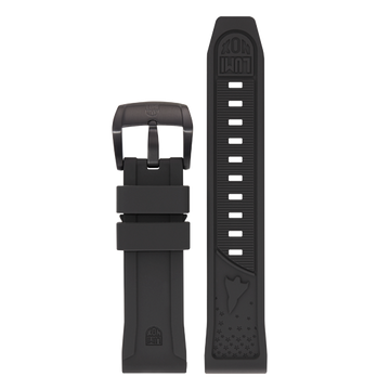 Luminox Silicone rubber Watch Band - Black 24 mm Strap | Luminox  Australia