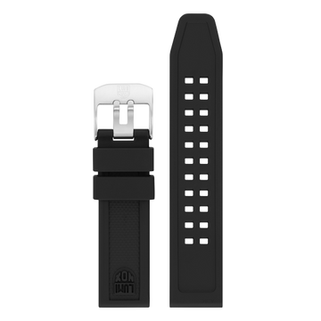Luminox PU Watch Band - Black 20 mm Strap | Luminox  Australia