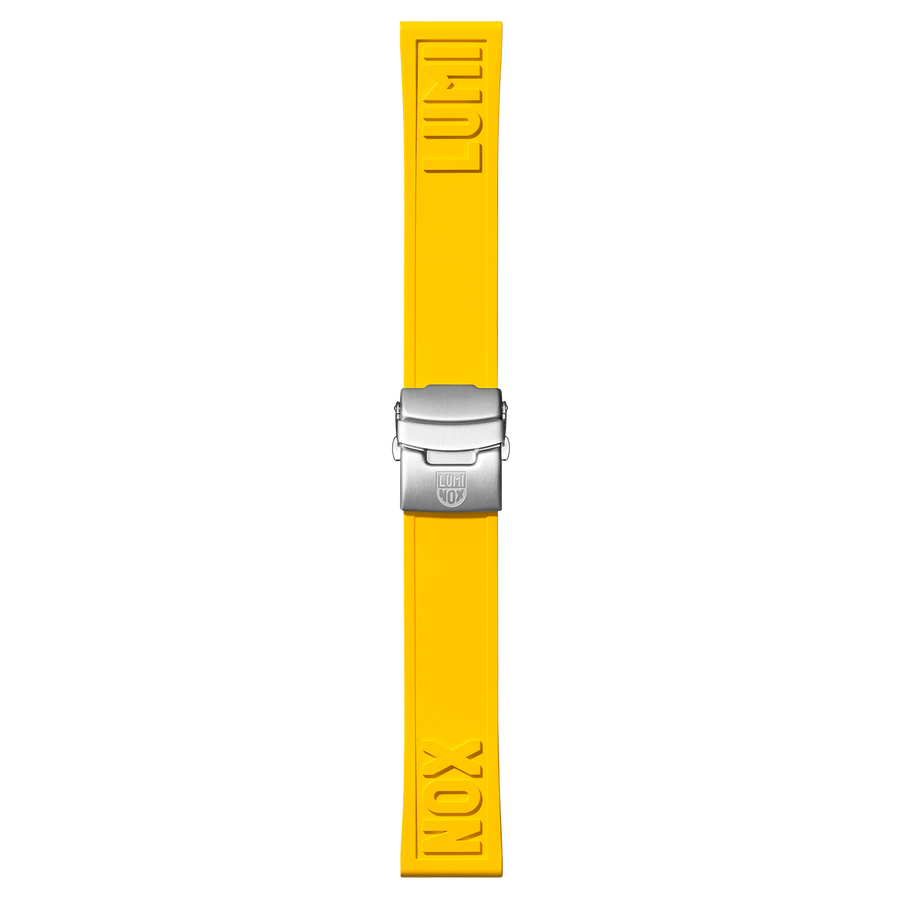 Luminox Genuine Rubber Strap - Yellow 24mm