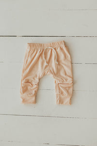 Joggers in Pale Blush