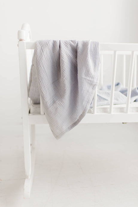 Swaddle in Light Grey