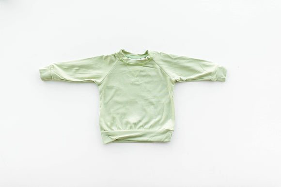 Crew Neck in Desert Sage