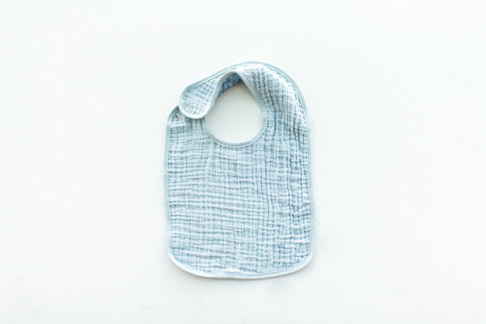 Oversized Bib in Blue