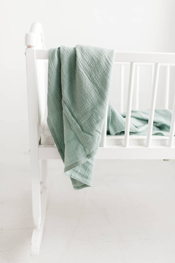 Swaddle in Sea Glass
