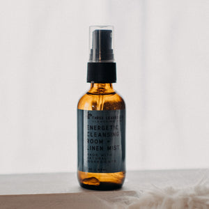 energetic cleansing room and linen mist smudge spray
