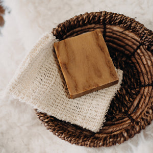 Natural Exfoliating Soap Sleeve